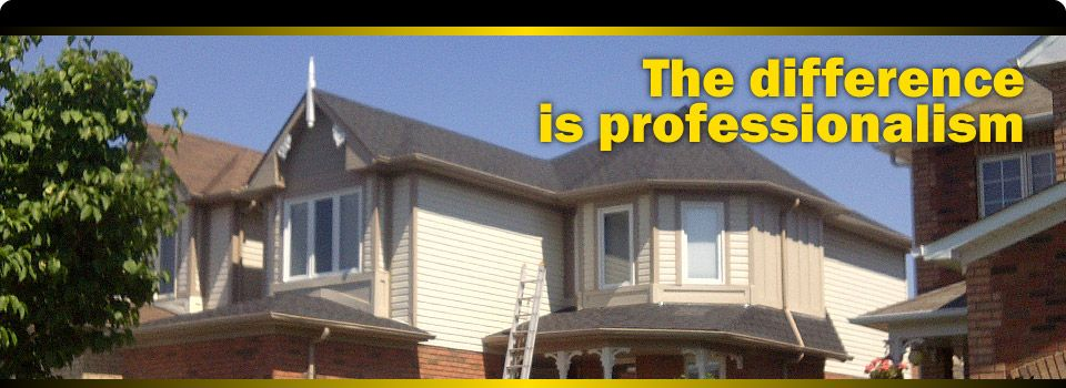 The difference is professionalism | home under construction